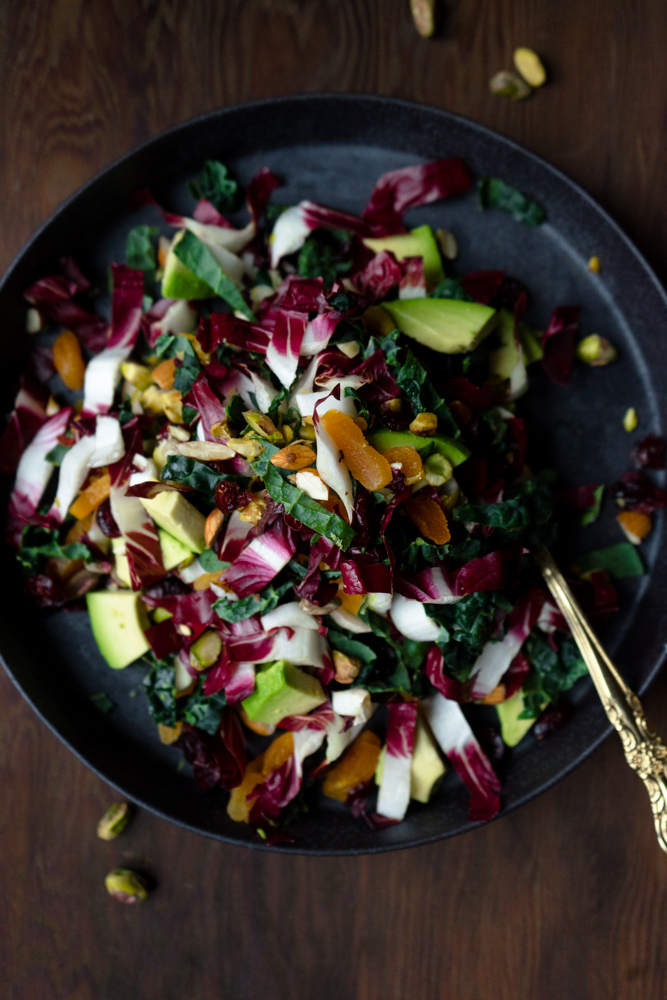 Winter Kale Salad | TENDING the TABLE