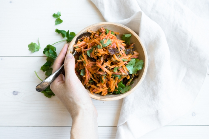 Carrot Salad || TENDING the TABLE