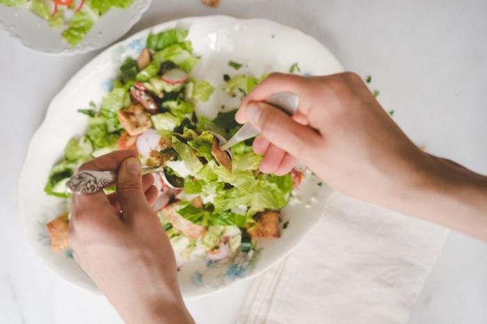 Fattoush Salad    TENDING the TABLE