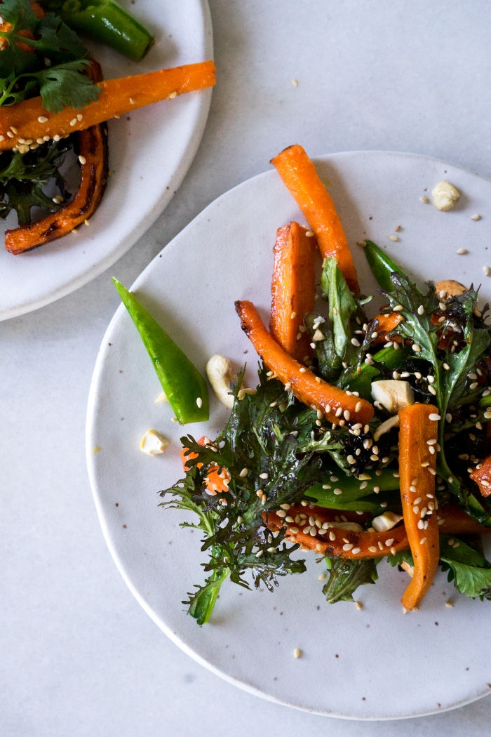 Miso Glazed Carrots | TENDING the TABLE