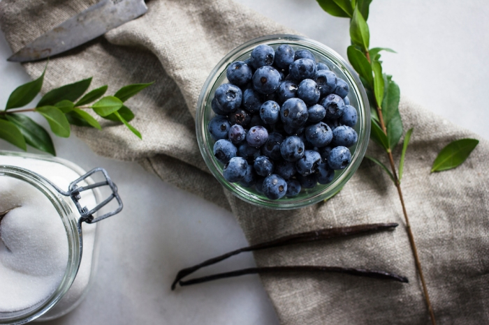 Blueberry Balsamic Compote | TENDING the TABLE