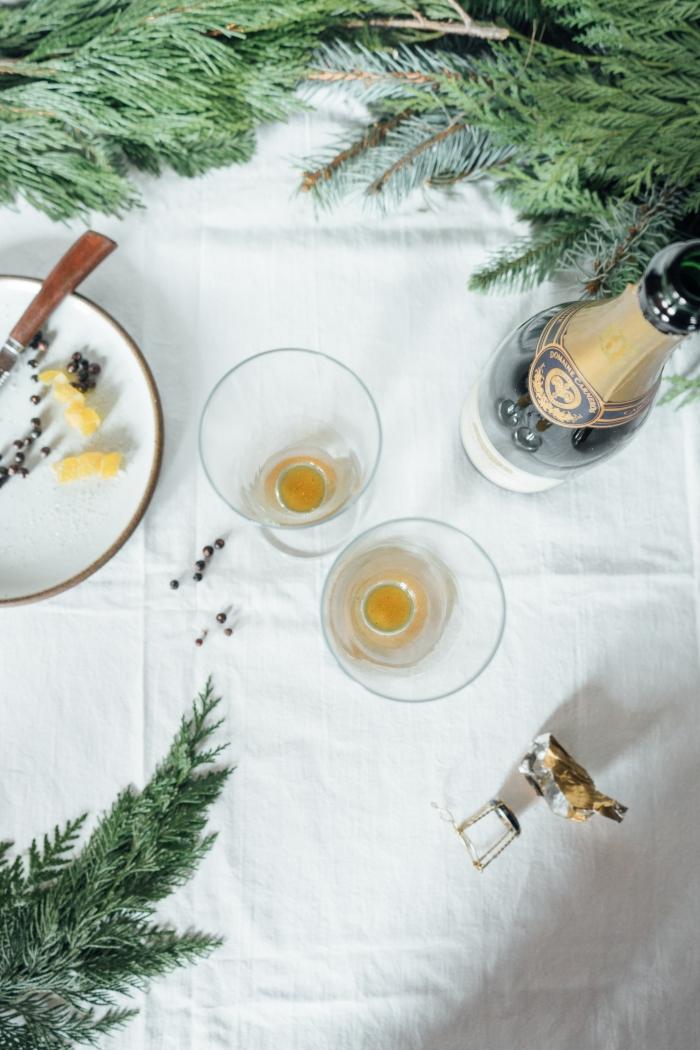 Juniper, Ginger and Lemon Spritzer   TENDING the TABLE