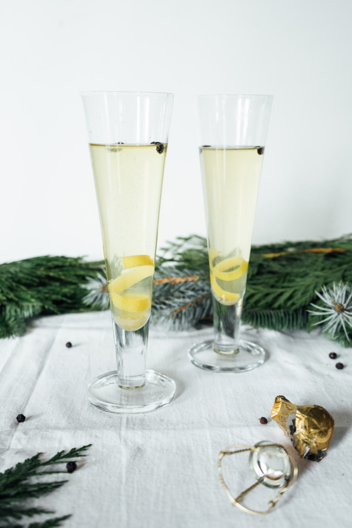 Juniper, Ginger and Lemon Spritzer | TENDING the TABLE
