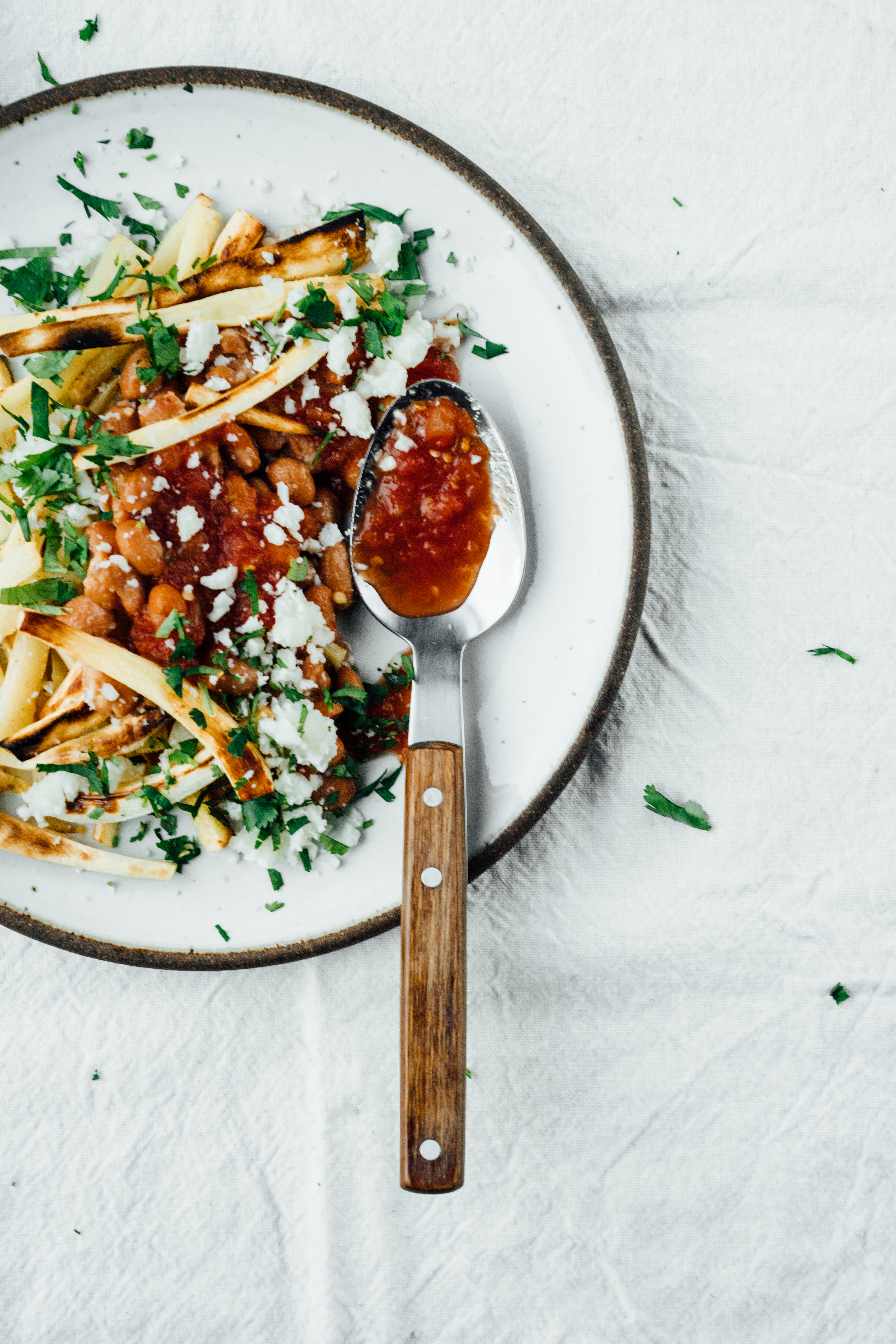 Mexican Style Parsnip Fries | TENDING the TABLE2