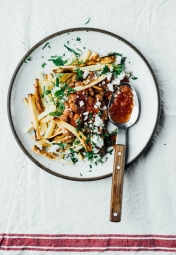 Mexican Style Parsnip Fries | TENDING the TABLE