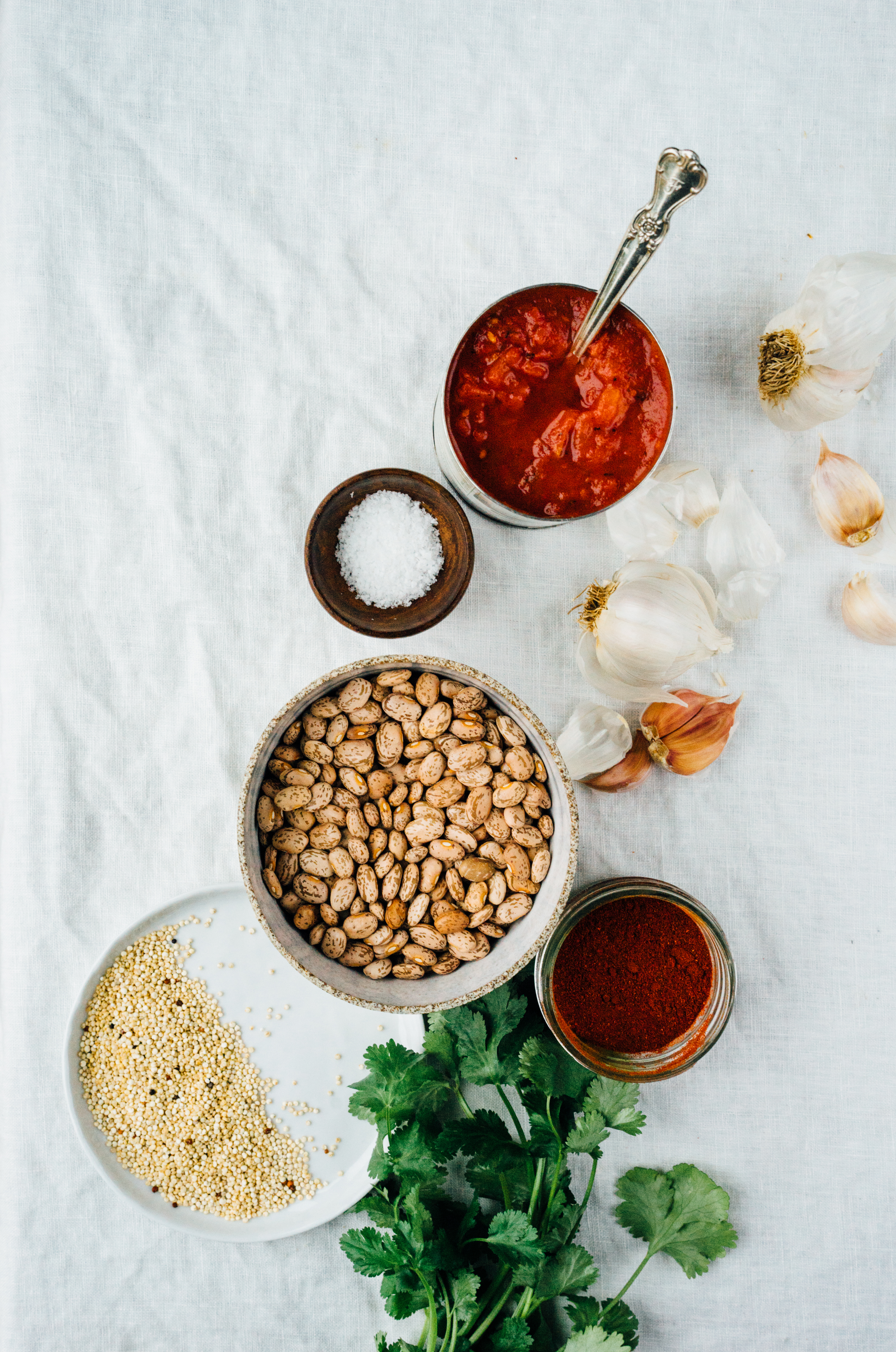 Smoky Chili with Quinoa | TENDING the TABLE