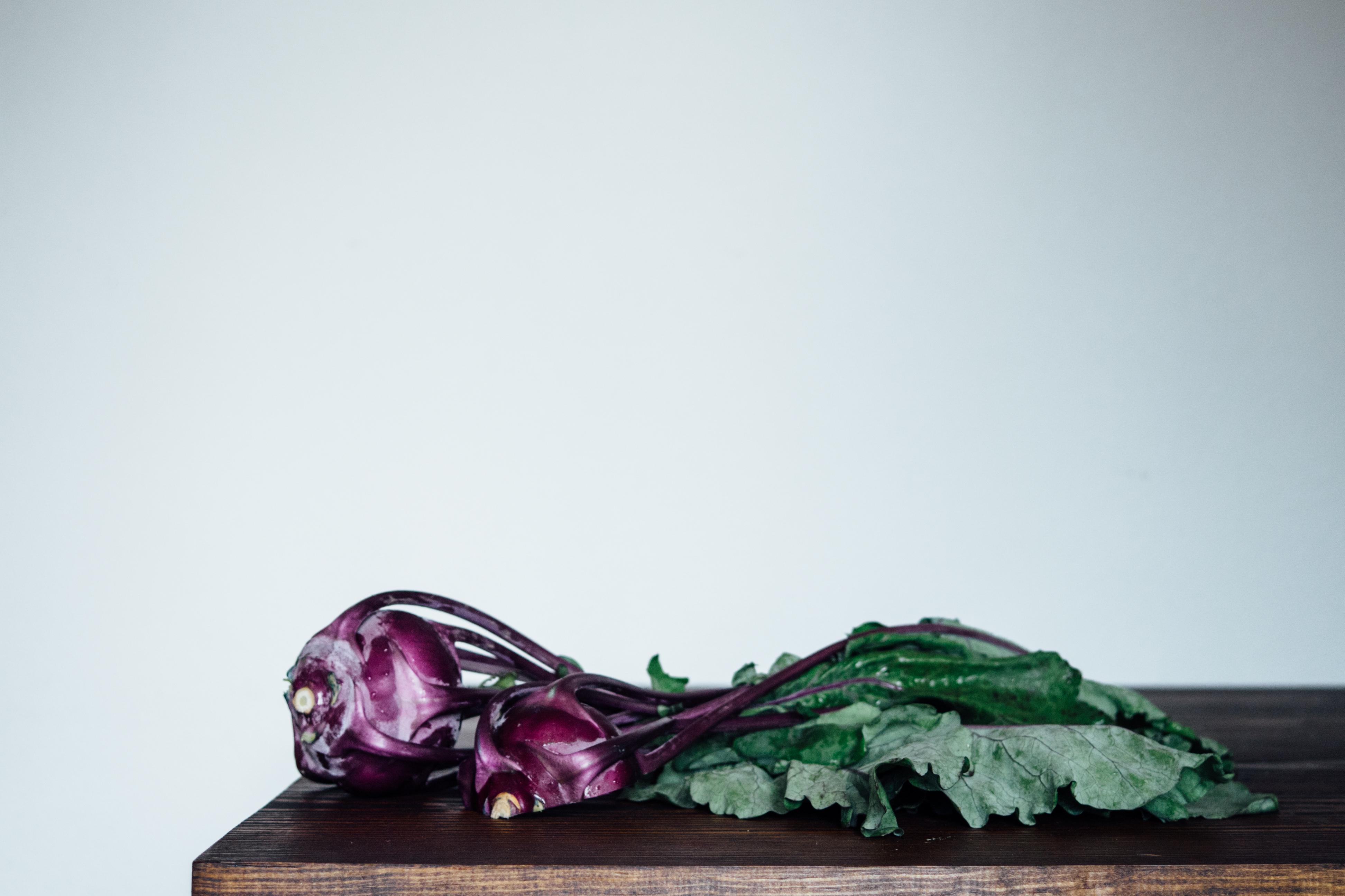 Kohlrabi, Cabbage and Apple Slaw | TENDING the TABLE