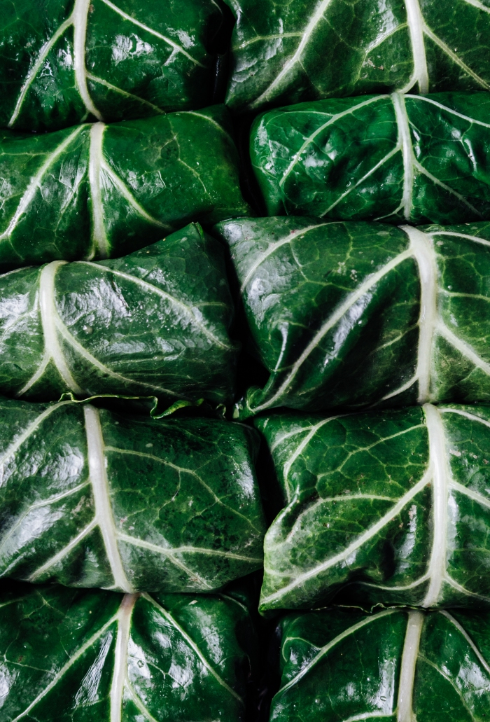 Collard Wraps | TENDING the TABLE