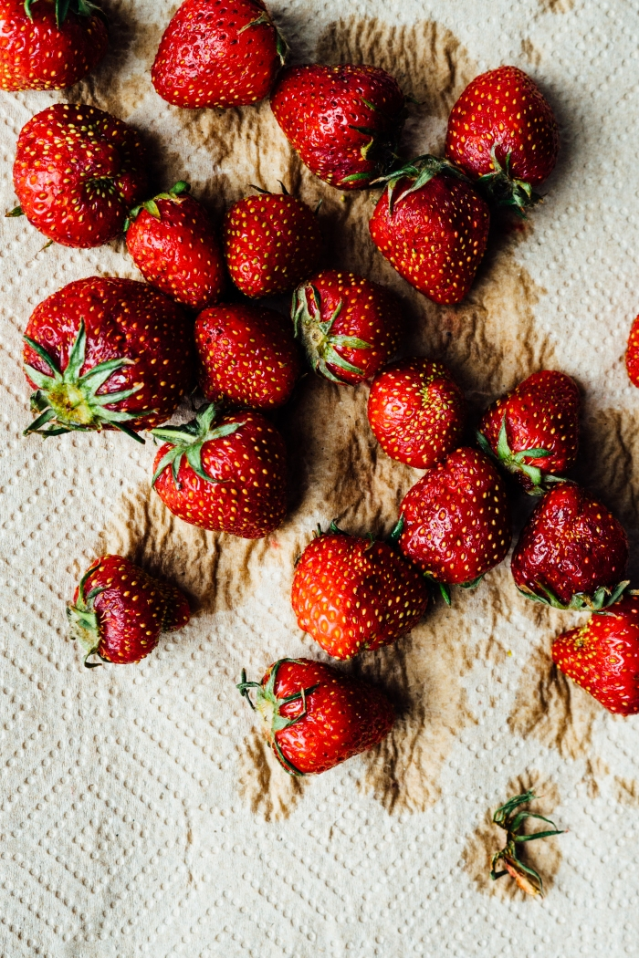 Gingered Strawberries | TENDING the TABLE