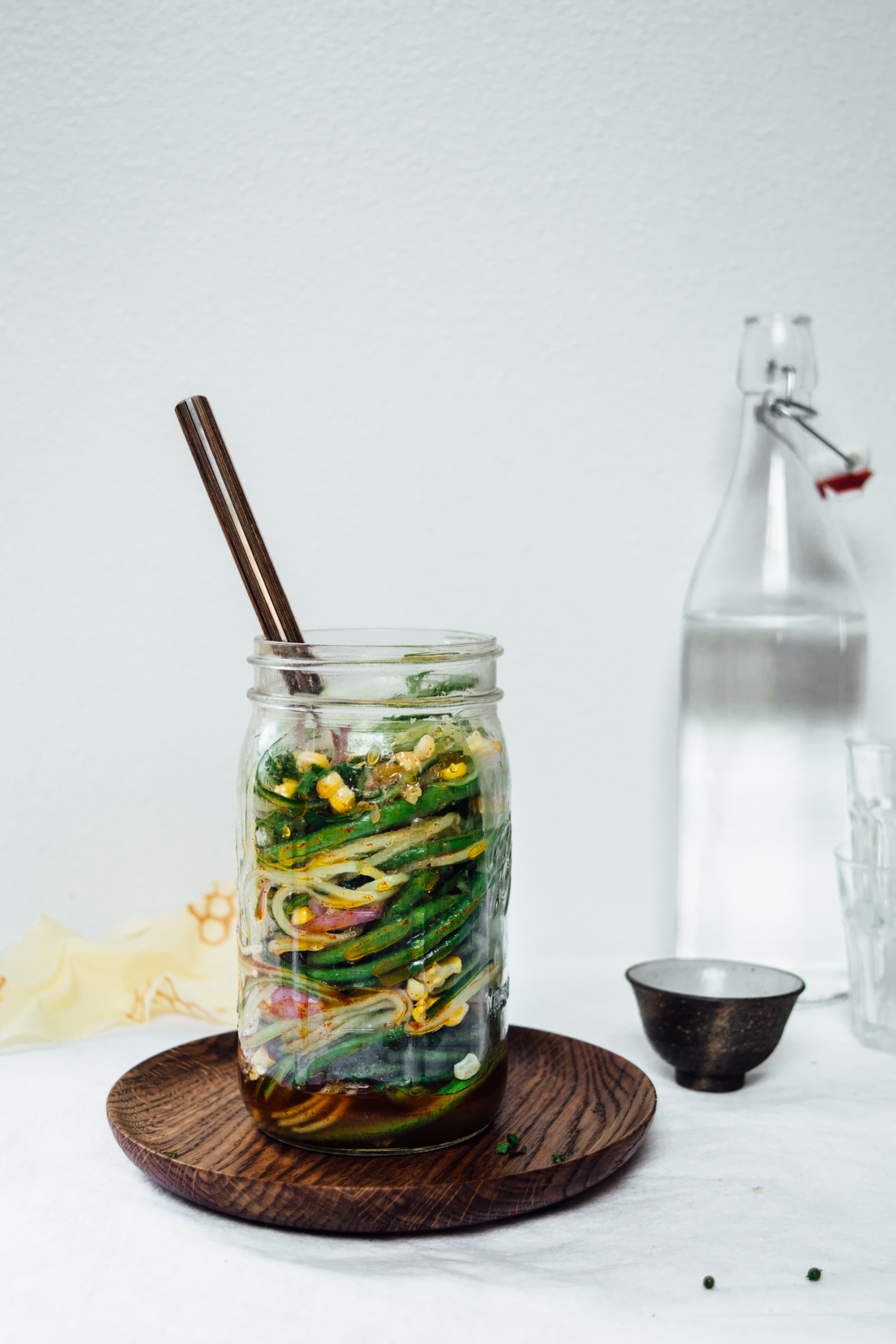 Summer Salad with Roasted Corn and Chili | TENDING the TABLE