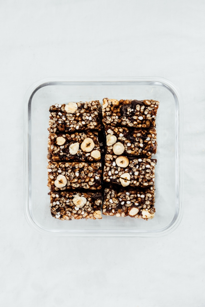 Rice Crispy Bars Three Ways | TENDING the TABLE