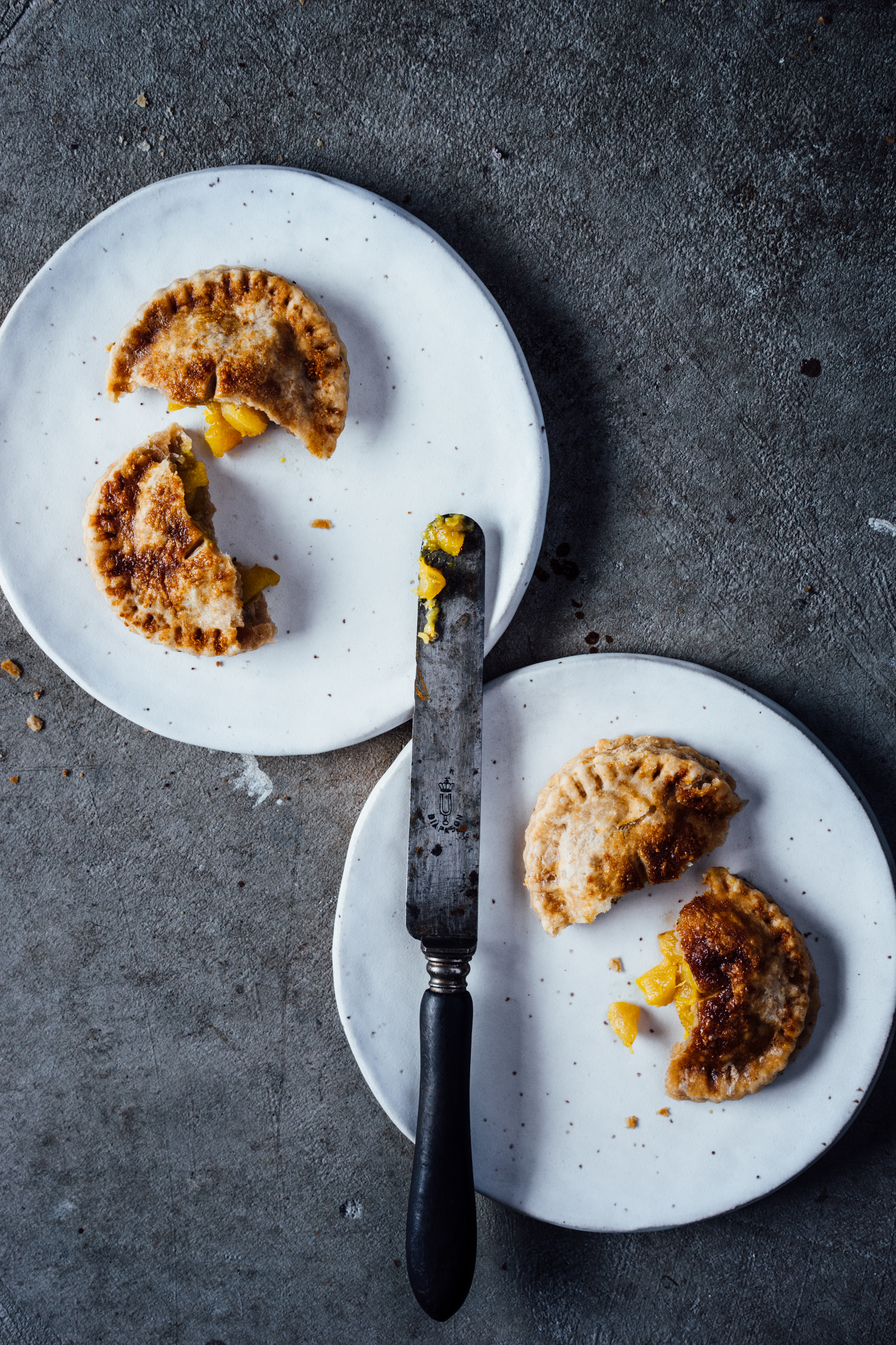 Chestnut and Spiced Pear Hand Pies | TENDING the TABLE