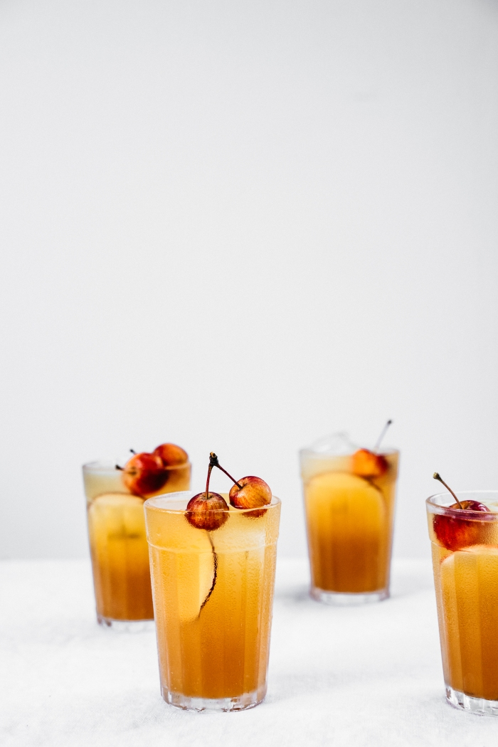 Ginger Apple Spritzer | TENDING the TABLE
