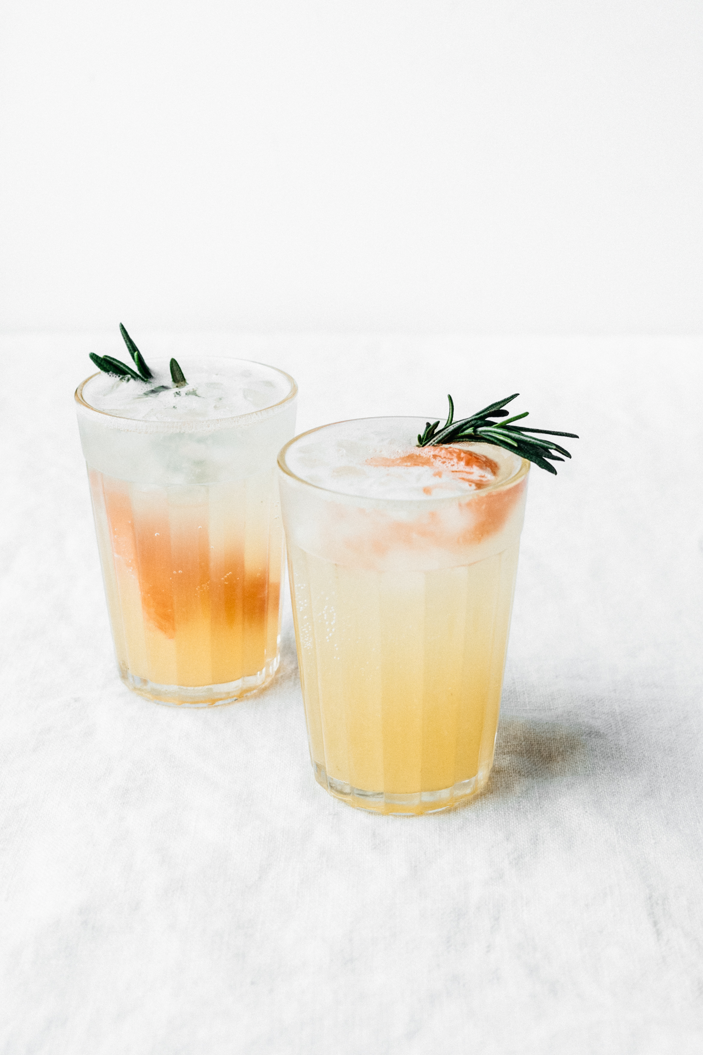 Rosemary, Honey, and Grapefruit Spritzer | TENDING the TABLE